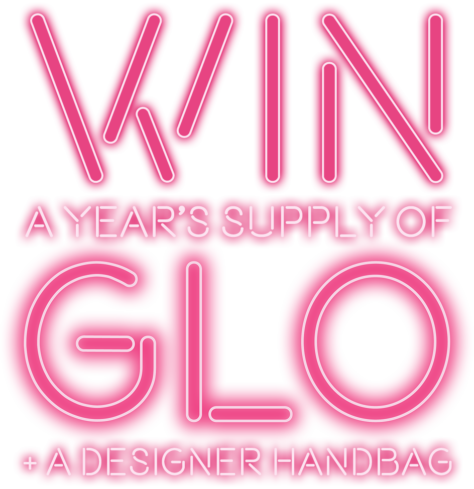 Win a year supply of GLO + a designer handbag